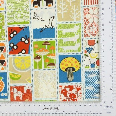 tela de cuadros estilo patchwork