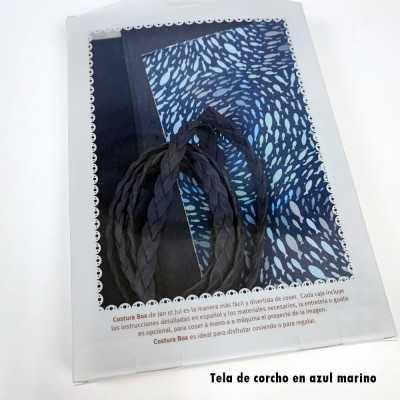 kit para Bolso Gaia con tela azul de Jan et Jul