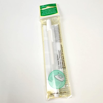 Rotulador tinta Blanco Nuevo marcador Clover BLANCO para eliminar con agua o en calor. Punta fina.Perfecto para marcar y copiar