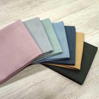 loneta antimanchas de algodón de 300gr en varios colores para coser