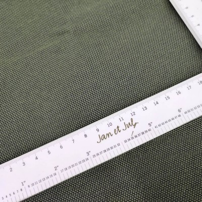 loneta antimanchas de algodón de 300gr verde militar
