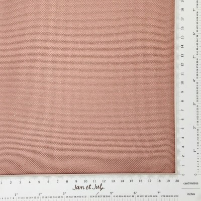 loneta antimanchas de algodón de 300gr rosa