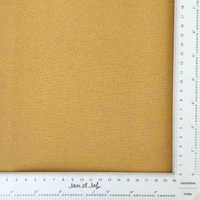 loneta antimanchas de algodón de 300gr mostaza