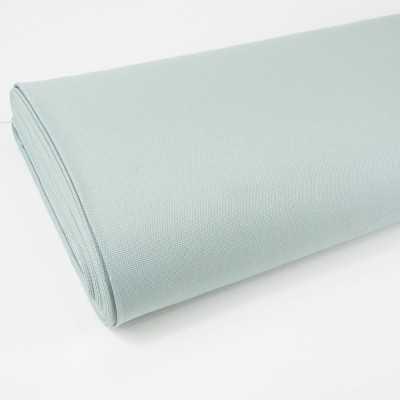tela loneta de algodon color mint