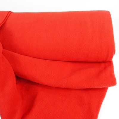 tela polar roja