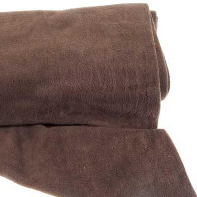 tejido polar marrón