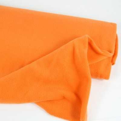 tela polar naranja