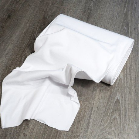 tela de puño blanco