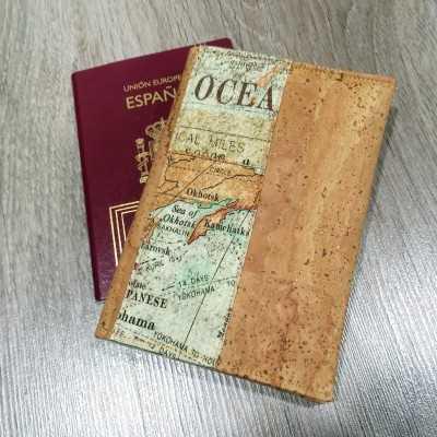 Kit para coser una funda de pasaporte