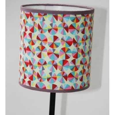 Patrón pantalla lámpara