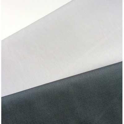 Telas básicas de algodón color gris