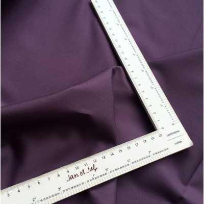 tela lisa de algodon color morado