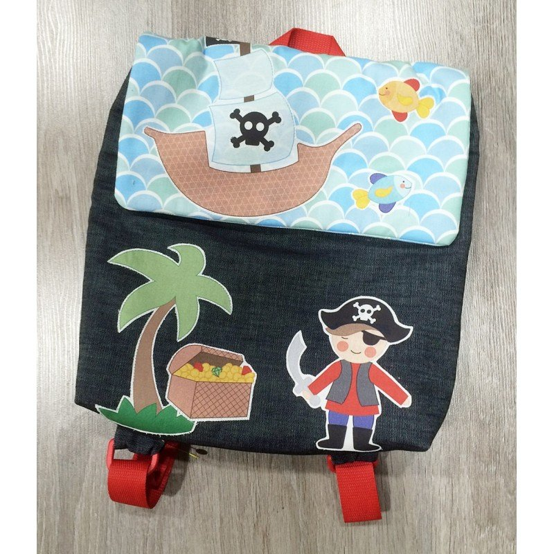 Patron para coser una mochila infantil
