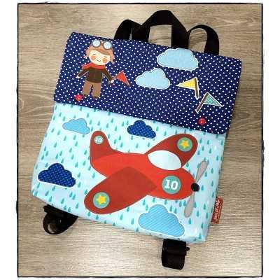 instrucciones para coser una mochila infantil
