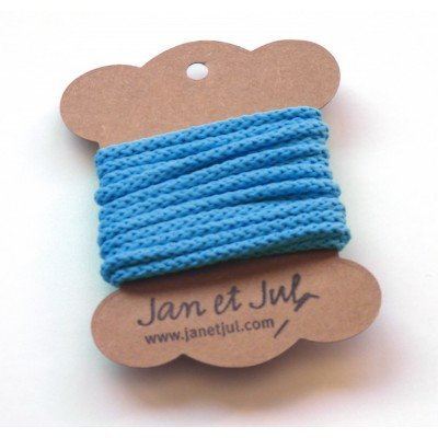 cordon de algodón azul