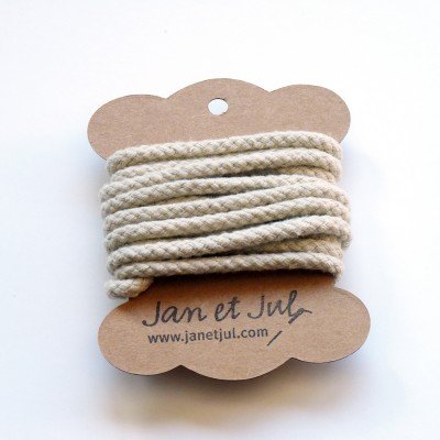 cordon de algodón crudo
