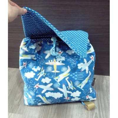 mochila para niños DIY
