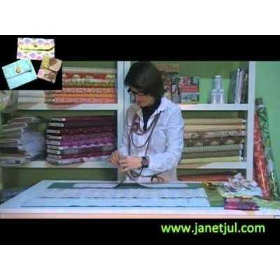Aprende a coser tres bolsos de diferentes medidas con Quiltsmart
