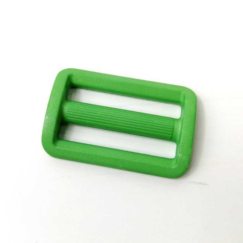 pasa cinta de plástico verde