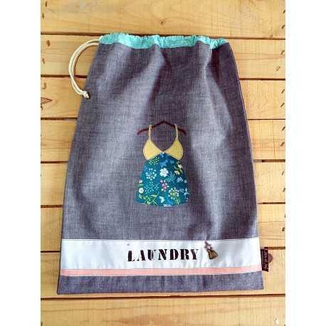 kit bolsa de lavanderia DIY