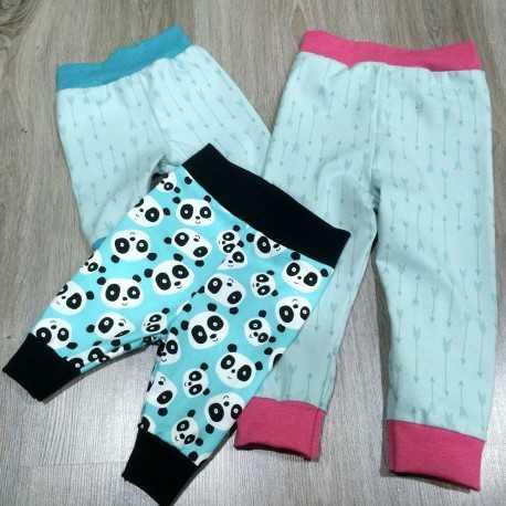 Kit DIY para coser pantalon infantil