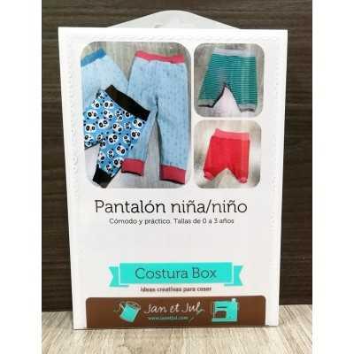 Kit para coser un pantalón infantil