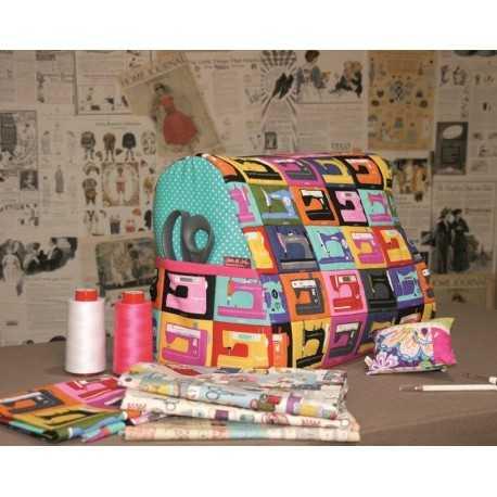 patrón para coser una funda de máquina de coser