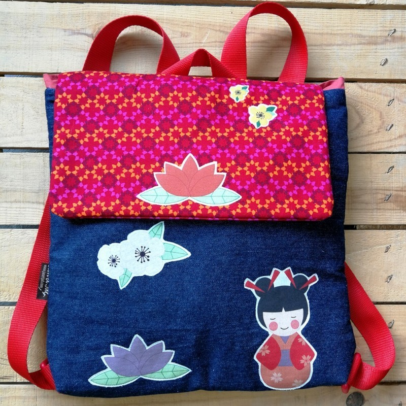 mochila infantil japonesa