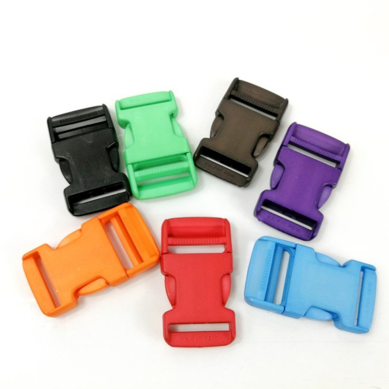 Cierres de plástico de colores 30mm