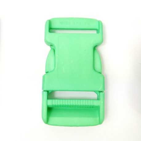 Cierre de plástico verde lima