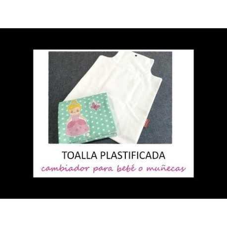 tutorial para aprender a coser un cambiador para bebe con toalla plastificada
