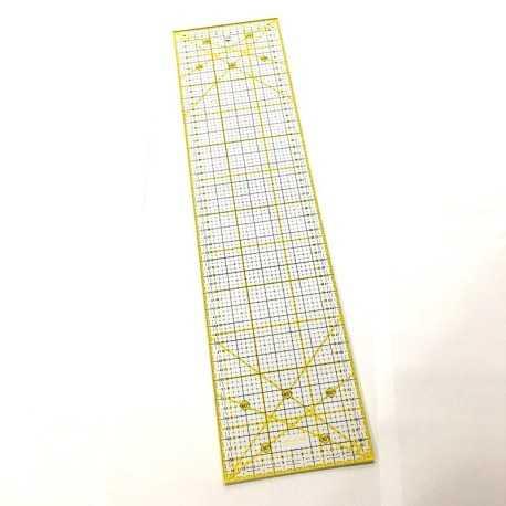 regla 15x60 cm