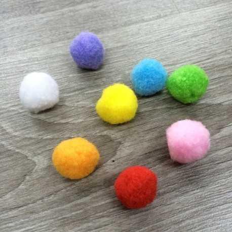 bolas de colores para adornar