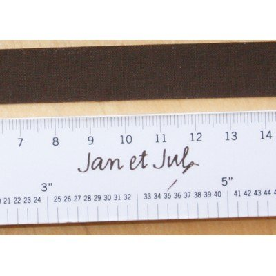 Cinta adhesiva de tela marrón chocolate