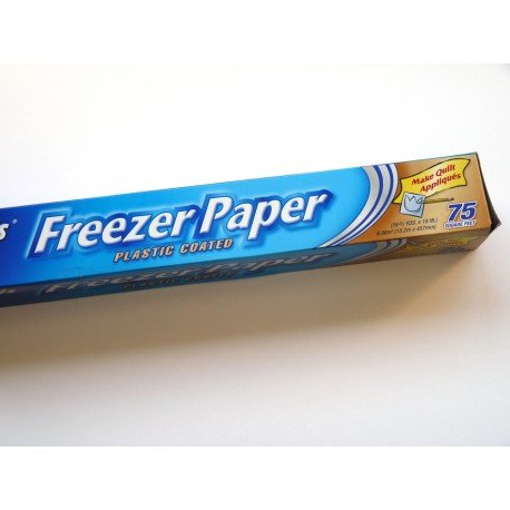 Freezer Paper ancho (ideal aplicaciones)