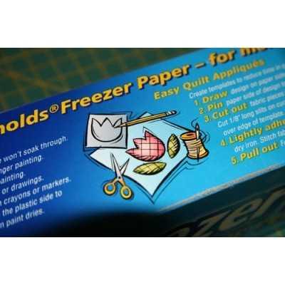 papel encerado frezer paper