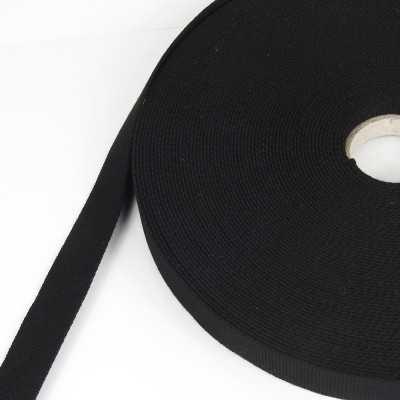 cinta algodón negra