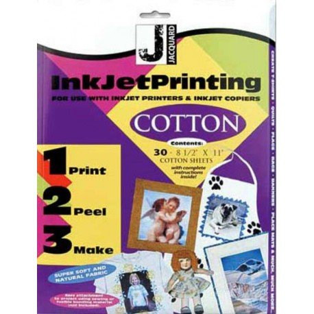 Hoja tejido imprimible