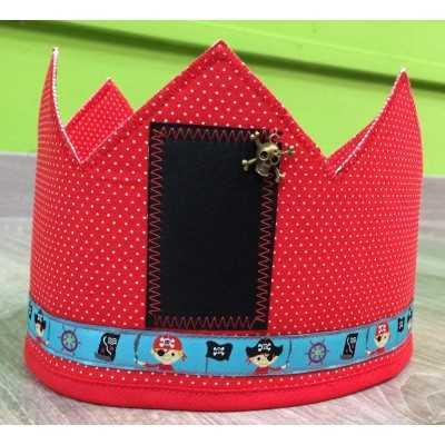 corona con calavera pirata