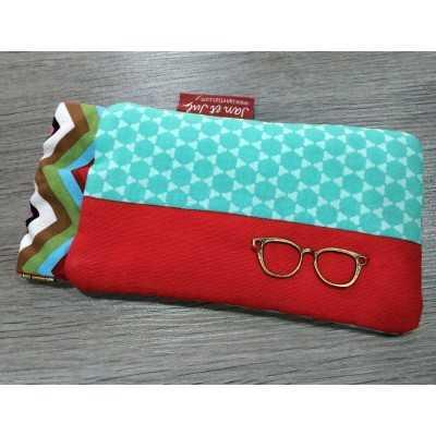 funda porta gafas diy