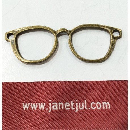 Colgante gafas grandes