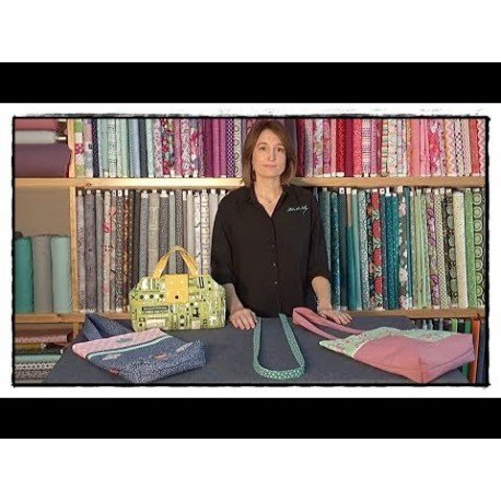 aprende como coser una asa de tela con bundfix