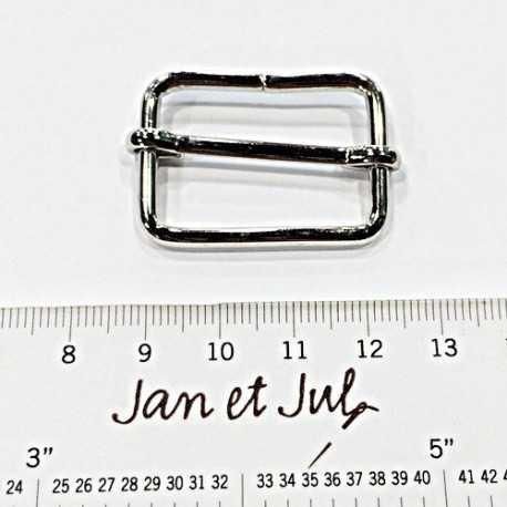 regulador o hebilla de plata 30mm
