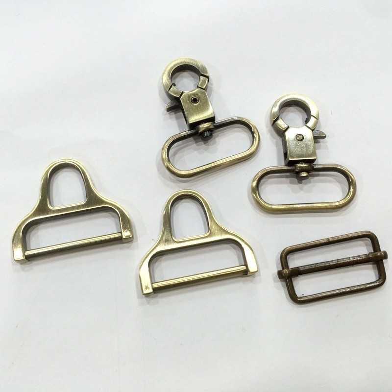 Pack cierres de metal 30mm de diseño