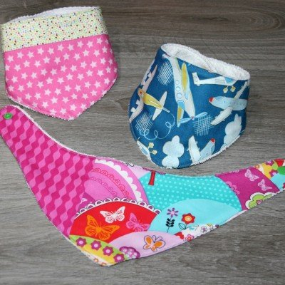 Bandana Infantil  DIY Jan et Jul