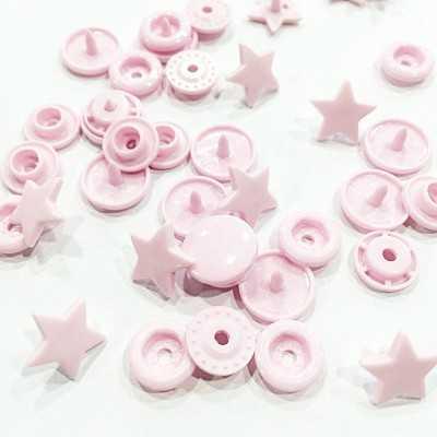 Snap estrella rosa