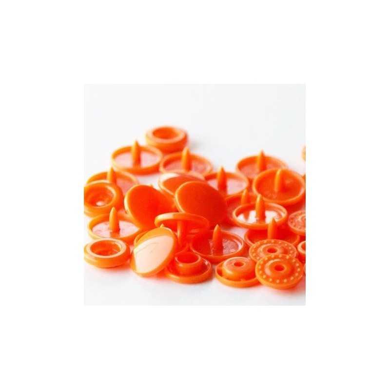 snaps redondos T5 naranjas