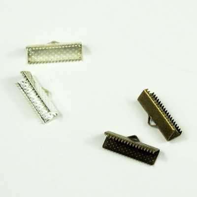 Cierres de pulsera en plata y oro