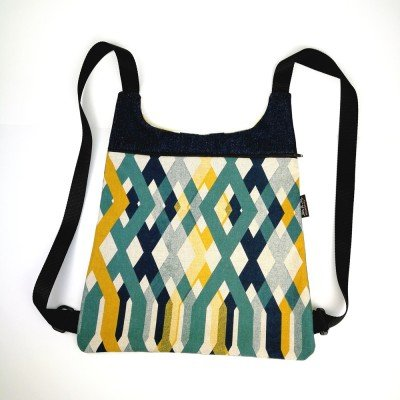 Patrón para coser Mochila Mots
