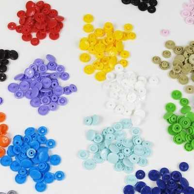 snaps redondos T5 o tamaño mediano de colores